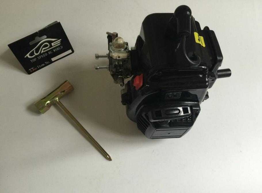 29cc 2-Stroke 4  bolt Gas Engine for 1 5 rc auto baja 5B 5T 5SC  per il commercio all'ingrosso