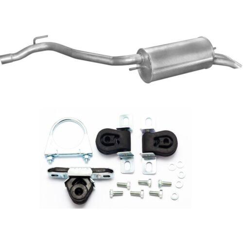 Anbausatz Endschalldämpfer Auspuff für VW Transporter 4 2.5 TDi 88//102 PS