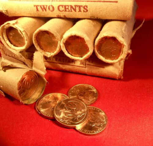 1972 2 Cent Australian Decimal Coin Unc X1 Coin Ex Mint Roll Could Suit PCGS?
