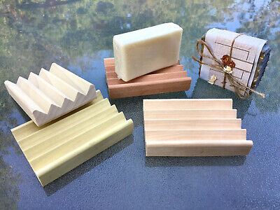 The BOARDWALK dish 56 Luxurious solid block soap dishes handmade in the USA