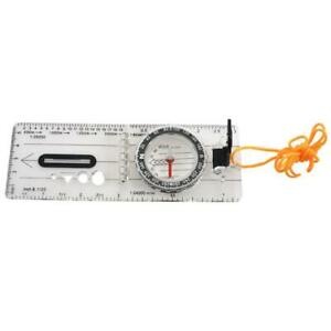 2X-Baseplate-Pocket-Compass-Orienteering-Hiking-Camping-Maps-Lensatic-R1I9