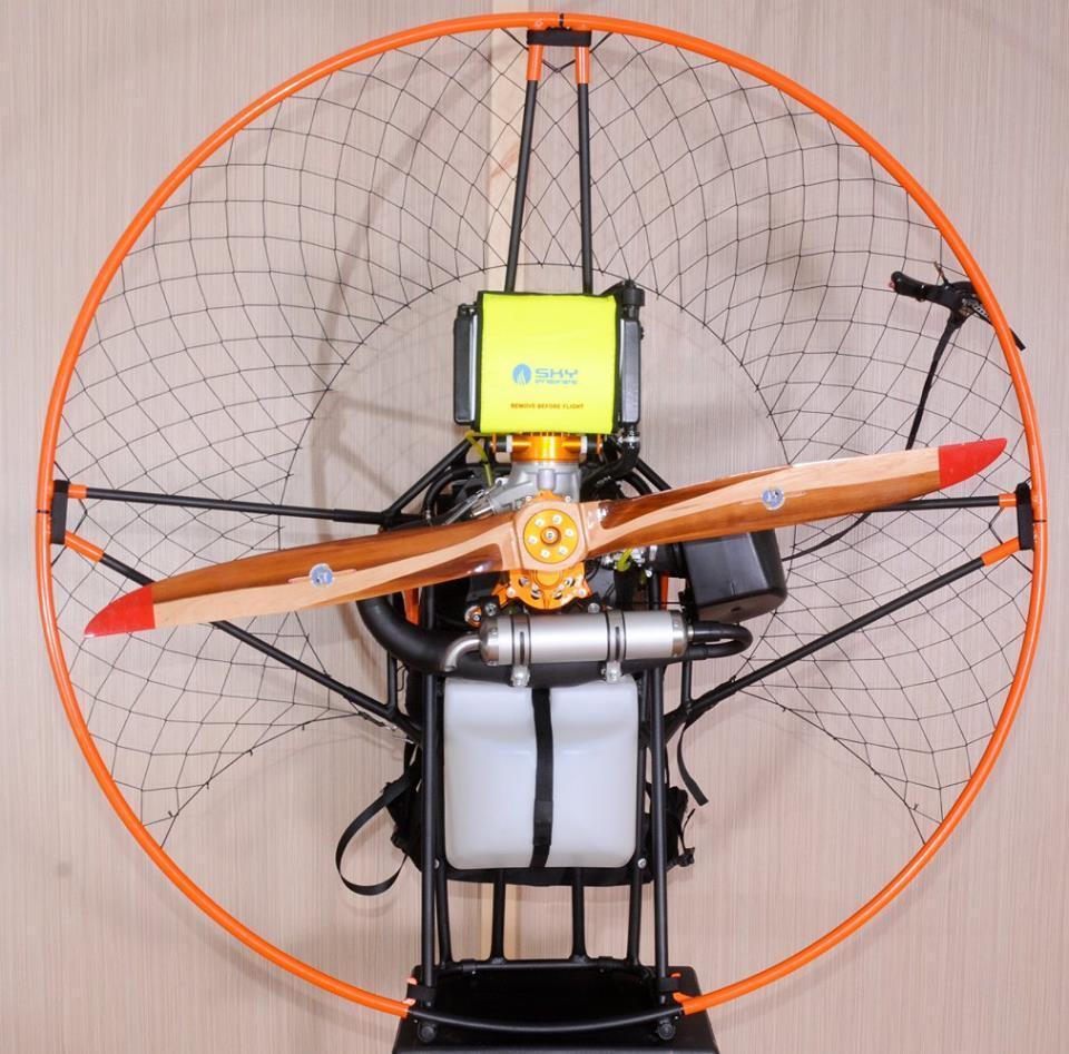 Propulsores Paramotor (para una amplia gama de motores)