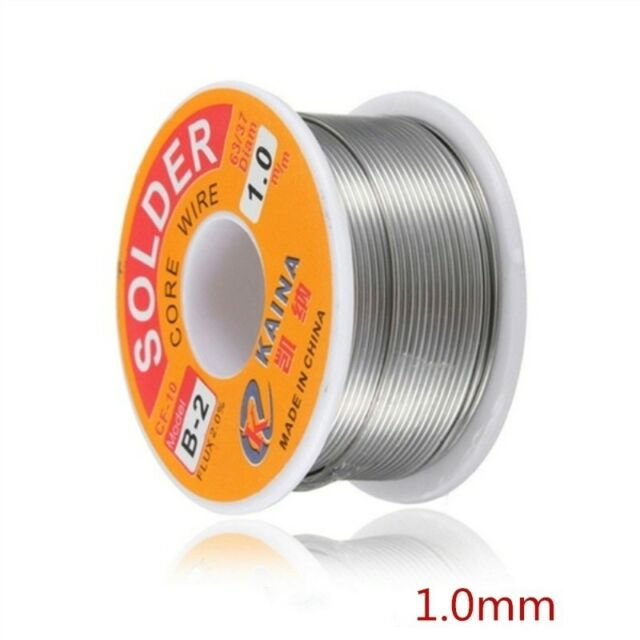 1mm Tin Lead Soldering Wire Reel Electronic Welding Iron Wire Non-corrosive WH1