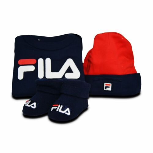 05F428 Blue Red White Babys Fila Fila Baby Set Newborn