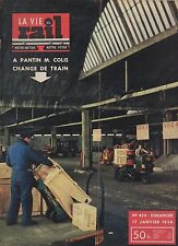 la vie du rail N°430 JANVIER 1954 A PANTIN