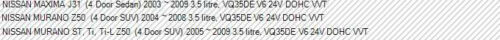 PLENUM GASKET LOWER for NISSAN MAXIMA J31 MURANO Z50 3.5L VQ35DE V6 DOHC VVT