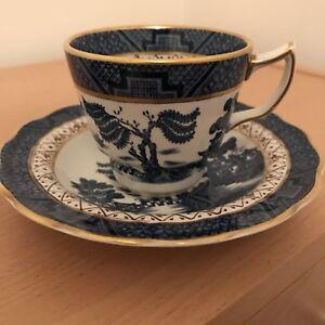 Real Old Willow China Tea Cup And Saucer Tea Set Duo Ebay