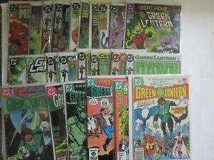 LOT-of-24-GREEN-LANTERN-titles-Very-High-Grade-1979-1995-9-2-9-6-DC