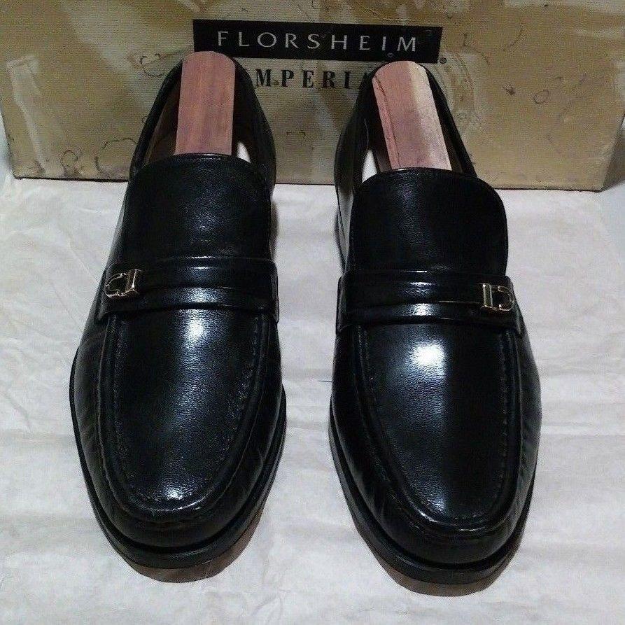 New Florsheim Imperial Como Como Como 5.5 D nero (596) 175aae