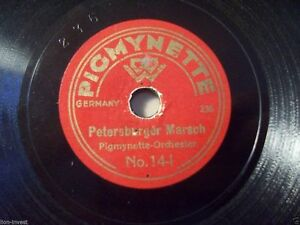 Pigmynette-Orchestra-034-Nun-Ade-You-Mein-Love-039-Homeland-034-78rpm-6-034-Toyphonograph