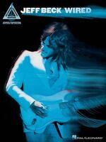 Jeff Beck Wired Sheet Music Guitar Tablature Book 000691043