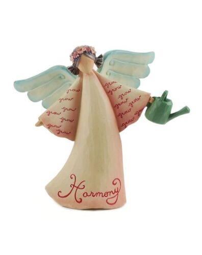 Blossom Bucket--Angel Figurine--Harmony~~So Cute~~