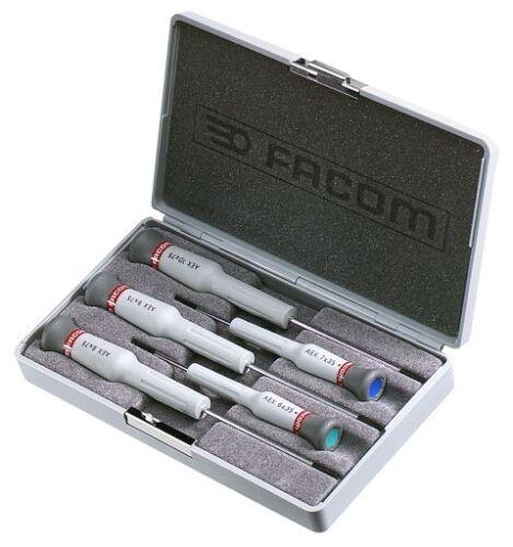 Facom Micro-Tech 5 Piece Screwdriver Set Torx AEX.J1