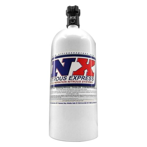 6.89 Dia x 20.19 Tall Nitrous Express 10lb Bottle w//Lightning 500 Valve