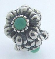790580ch Retired Pandora Sterling Silver Chrysoprase May Birthday Blooms