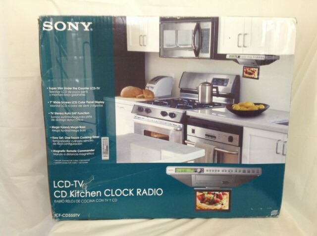 Sony Icf Cd555tv 7 Lcd Television For Sale Online Ebay
