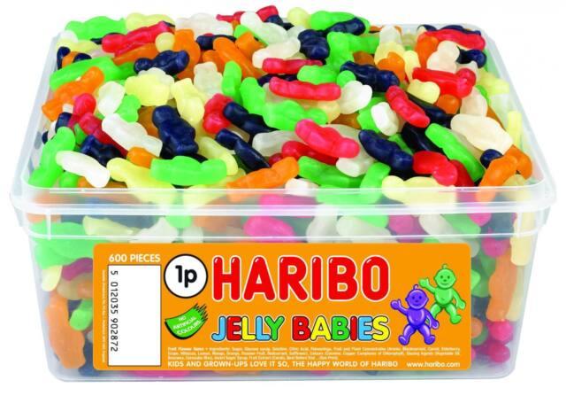 HARIBO Sweets - GOMINOLAS 600 por Tubo
