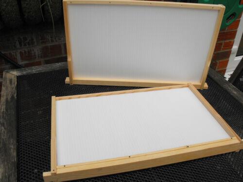 LANGSTROTH DEEP Dummy Boards CORREX (pair)