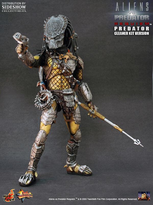 HOT TOYS 16 Alien Vs. Predator Aliens Vs Predator Requiem Wolf Depredador MMS66 Kit Limpiador ver
