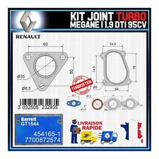 Joints Turbo 1.9 dTi 95 Cv Renault Megane 7700872574 Garrett GT1544 454165-1