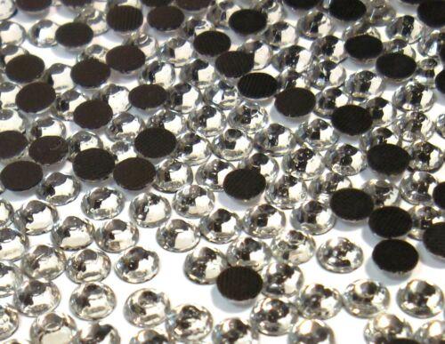 720 Hotfix Strasssteine 6mm CRYSTAL KLAR GLAS STRASS Bügelsteine BEST 450