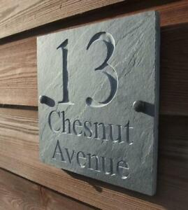Engraved-Natural-Riven-Slate-House-Door-Sign-Name-Number-Plaque