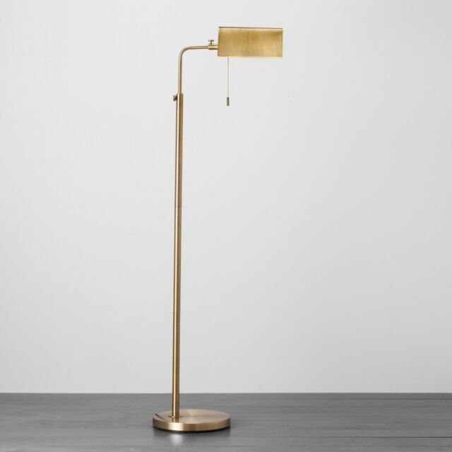 Hearth & Hand™ with Magnolia Brass Farmhouse Library Floor Lamp NIB Ships Today!