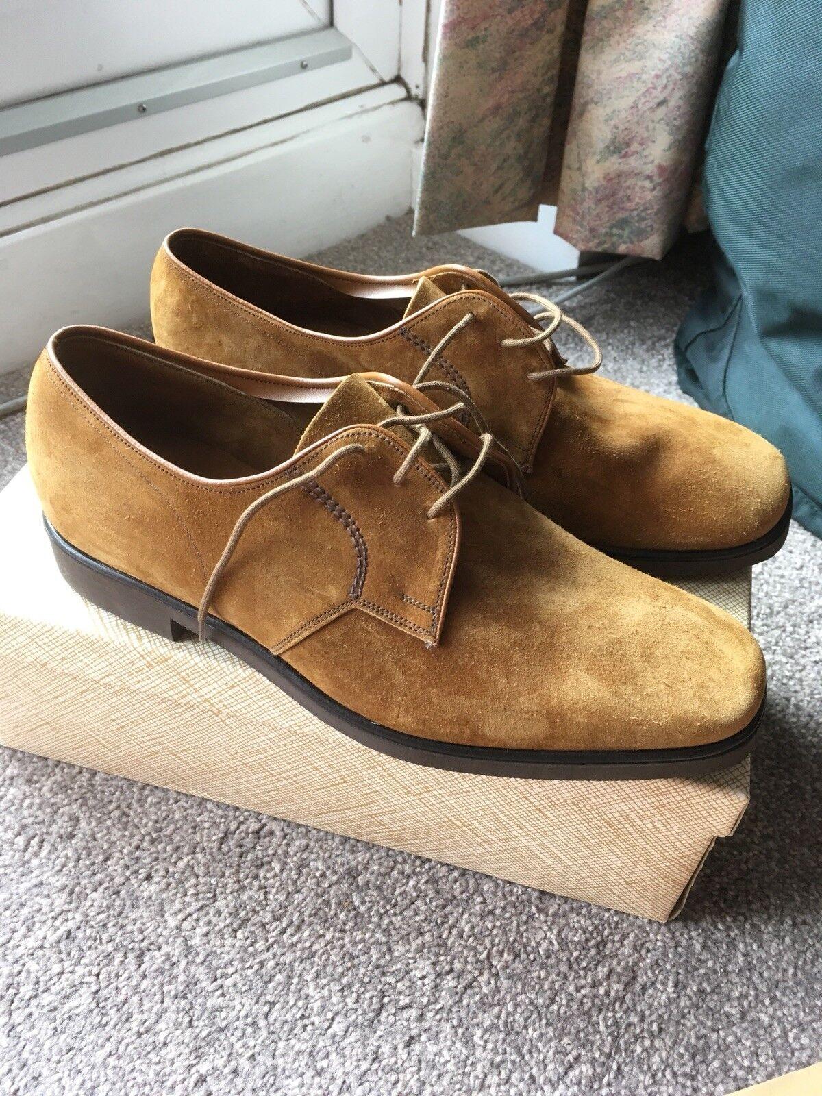 Churchs shoes Hippopotamus Suede 7 1 2. New In Box