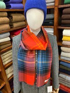 100-Pure-New-Wool-Pashmina-Lochcarron-Made-in-Scotland-Lochcarron-Ruby
