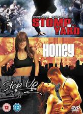 Stomp The Yard/Honey/Step Up (DVD-2008, 3 Disc Box Set) Region 2. NEW & SEALED**