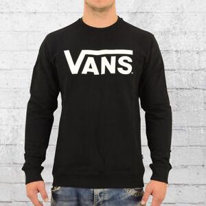 Details zu Vans Männer Pullover Classic Crew Neck schwarz Herren Sweater Sweatshirt Pulli
