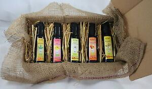 Arganöl Aprikosenkernöl,hanföl Usw Auswahlmaterialien Gutherzig 5 X Bio-Öle Als Geschenkset Schwarzkümmelöl
