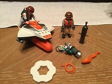 Playmobil Spy Team Scuba Diver Figure Watercraft EEL