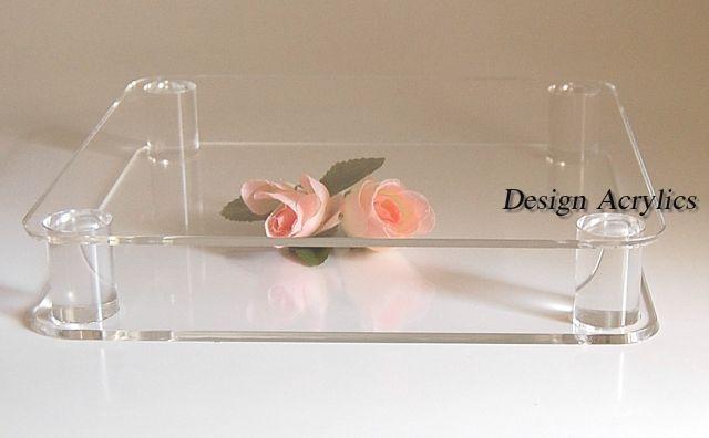 Grande place empilés acrylique gateau de mariage socle base 12  gateau display