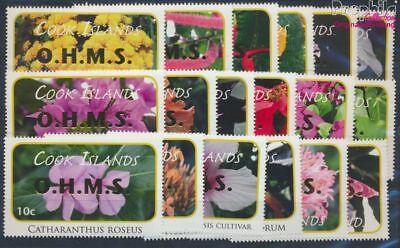 Romantisch Cookinseln D70-d87 Postfrisch 2010 Pflanzen Motive 8610120 Neueste Technik