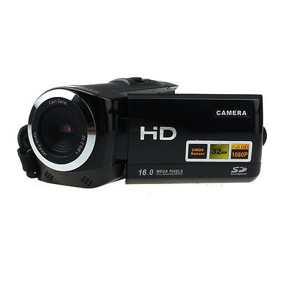 Full HD Camera 1080P 16MP Video Camera LCD 8X Zoom Camcorders Recorder Stylish