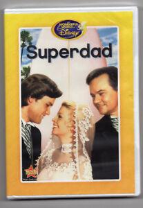 Wonderful-World-of-Disney-Superdad-DVD-Club-de-pelicula-de-Disney-Exclusivo-Nuevo
