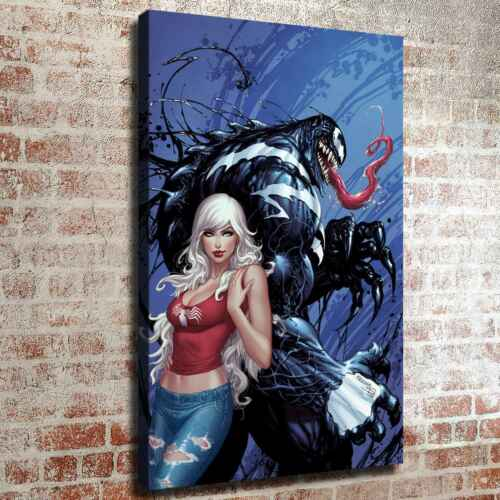 White hair and venom Picture HD Canvas prints Painting Home decor Room Wall art