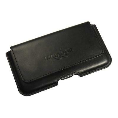 Mutig Samsung I9500/i9505 Galaxy S4 Handy Gürtel Tasche Ledertasche (matador Piano2)