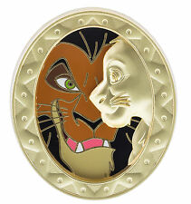 Disney Parks Duets The Lion King SCAR & SIMBA LE Boxed Pin of the Month