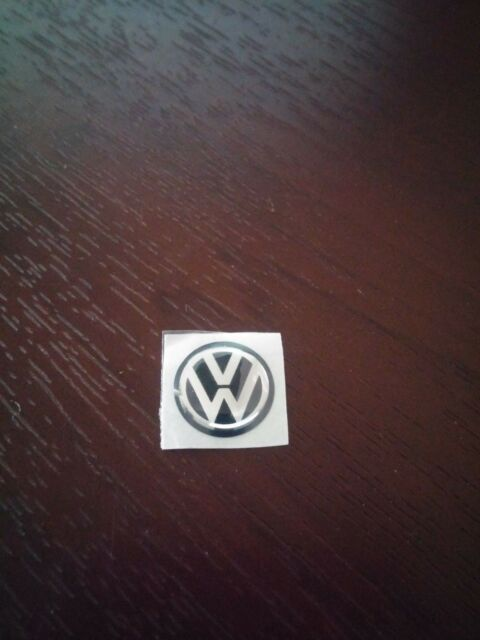 12MM VW KEY FOB LOGO BADGE EMBLEM STICKER VOLKSWAGEN GOLF JETTA PASSAT POLO