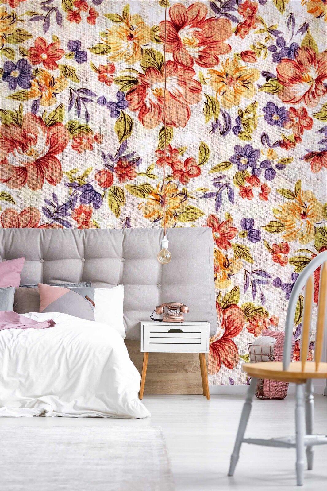 3D 3D 3D ROT Flower 785 Wallpaper Mural Paper Wall Print Indoor Murals CA Summer 506aa5