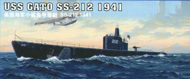 Trumpeter 1 144 Uss Gato SS-212 1941  05905