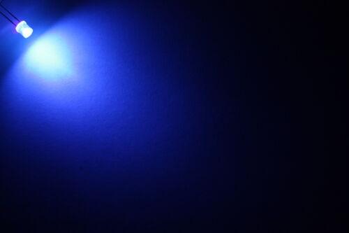 10x 5mm LED PLAT Flattop très lumineux Diodo resistenza 5mm