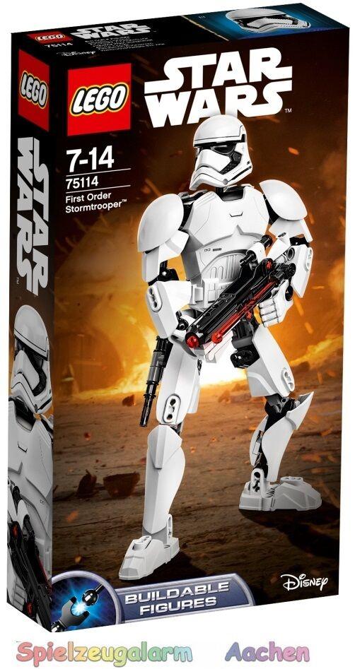 LEGO star wars 75114 First order un stormtrooper stormtroope tu premier or n1 16