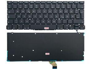 """DE - Tastatur keyboard mit Beleuchtung für Apple MacBook Pro 13"""" A1502 EMC2875"""
