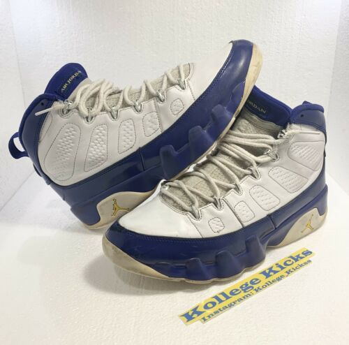 """Nike Air Jordan 9 Retro Kobe PE """"Lakers"""" Size 12 B"""