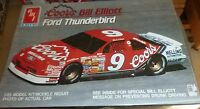 1990 Bill Elliott #9 Coors Ford Thunderbird Nascar AMT 1 25 Scale Model Kit