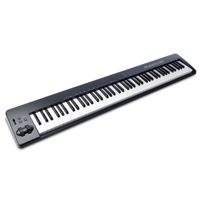 Rockville 88 Key Padded Durable Keyboard Gig Bag Case For M-Audio Keystation 88