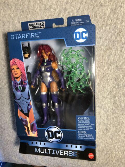 DC Multiverse Starfire 6 Inch Collect & Connect Ninja Batman BAF - New